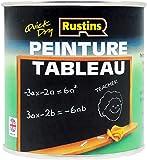Rustins 1L Quick Dry Blackboard Paint - Black