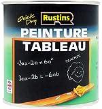 Rustins 250ml Quick Dry Blackboard Paint - Black