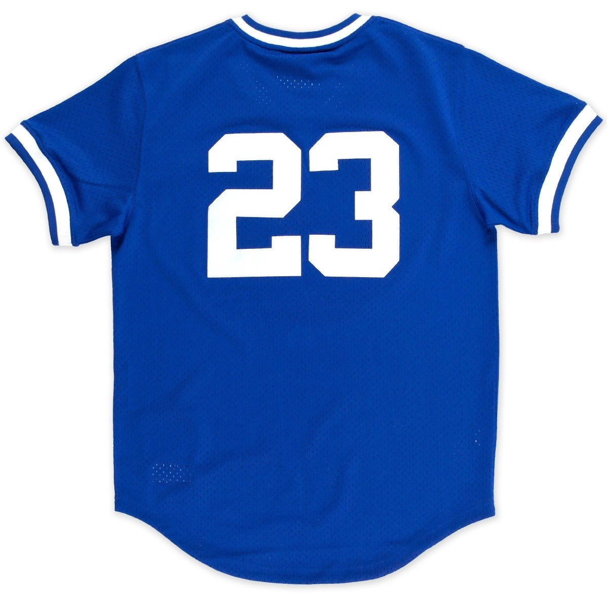 new products 6fcf2 7fe0e Mitchell & Ness Ryne Sandberg Blue Chicago Cubs Authentic Mesh Batting  Practice Jersey