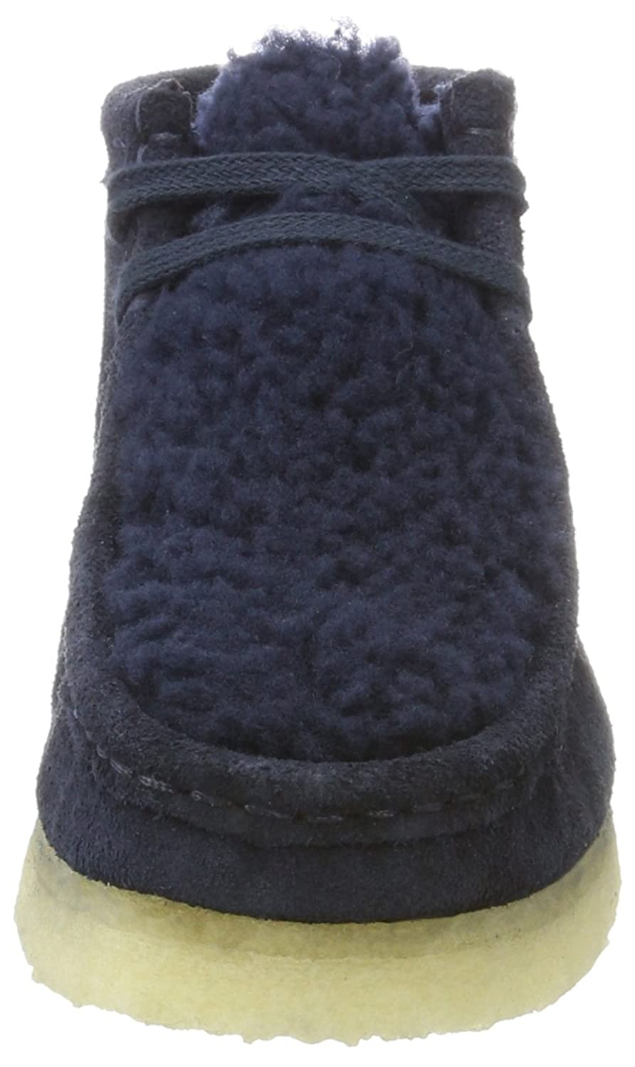 Clarks Originals Damen Wallabee Boot. Stiefel Blau Blau Blau (Navy Suede) 32149b