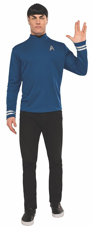 Star Trek Deluxe Spock Costume Shirt Adult Small vkfMyeBvbr
