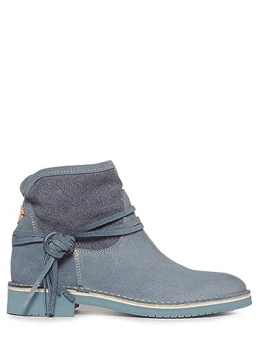 Wrangler Boots 41 Blau Leder Indy Stiefeletten Damen Gr36 eWdxBoQrC