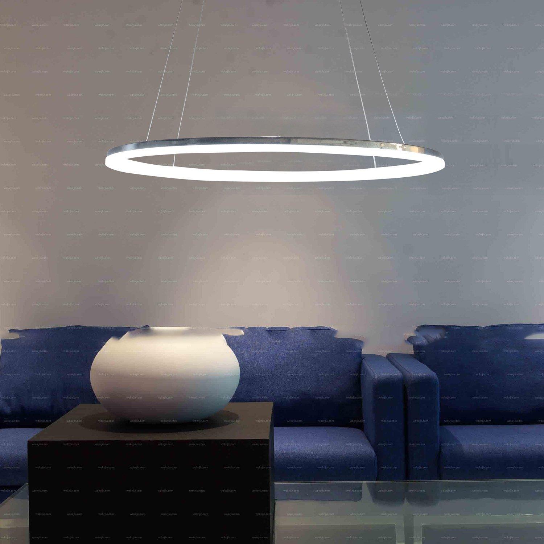 LED Ring Pendelleuchte Modernes Design Für Wohnzimmer: Amazon.de:  Beleuchtung