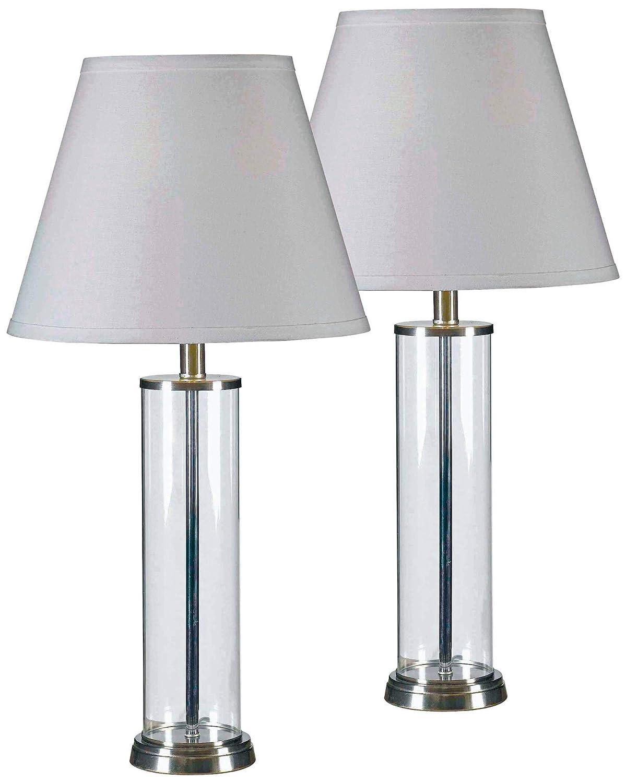 Amazon.com: kenroy Home 32080 – Echo 1 luz lámpara de mesa ...