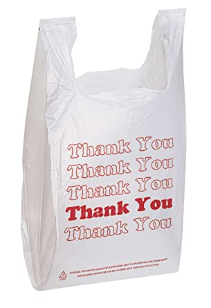 Amazon.com: Thank You Bags pk. de 1000-11 1/2 pulgadas x 6 ...