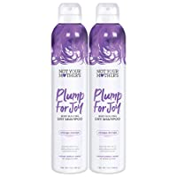 Not Your Mother's Plump for Joy Body Building Dry Shampoo, 7 Ounce, 2 count, for...