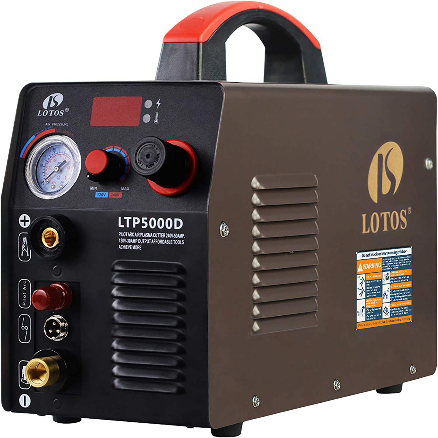 #1 Lotos Technology Non-Touch 50A Pilot Arc Plasma Cutter