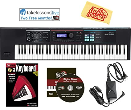 Roland Juno DS-76 Synthesizer Bundle with DP-10 Damper Pedal