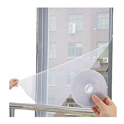 Charmant Flyzzz DIY Self Adhesive Window Screen Netting Mesh Curtain, 100X150cm  (Approach 39.37x59