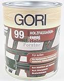 GORI 99 Holz- und Fassadenfarbe 2052 Lichtgrau, 0,75 Liter