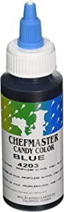 Chefmaster Liquid Candy Color, 2-Ounce, Blue