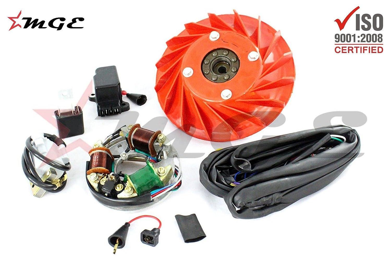 Prime Vespa Vbb Vba Super Vbc Vnb 12 Volt Electronic 6 Volt Conversion Kit Wiring 101 Nizathateforg
