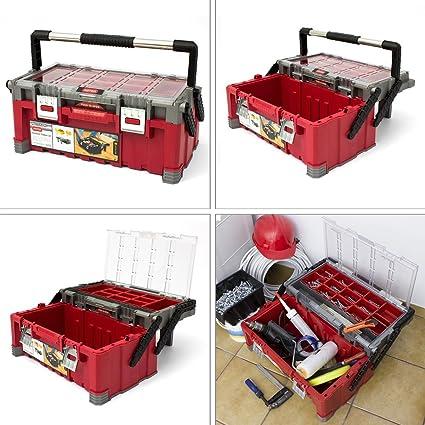 Caja de herramientas para bicicleta Masterpro{22} taller maleta cajas para tornillos en la