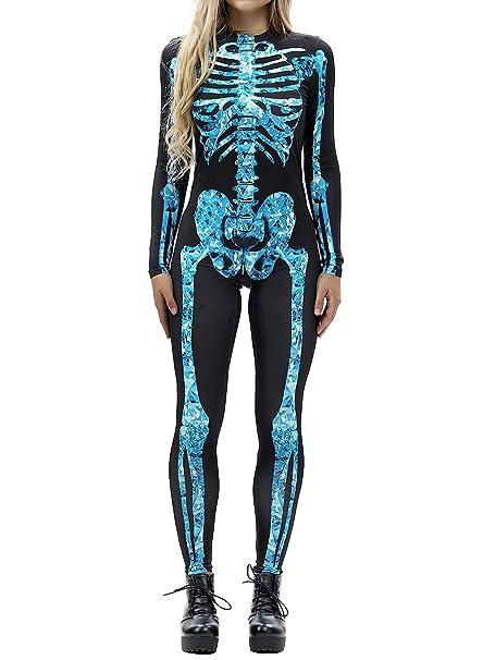 Amazon.com: Auremore Disfraz de Halloween para mujer 3D ...