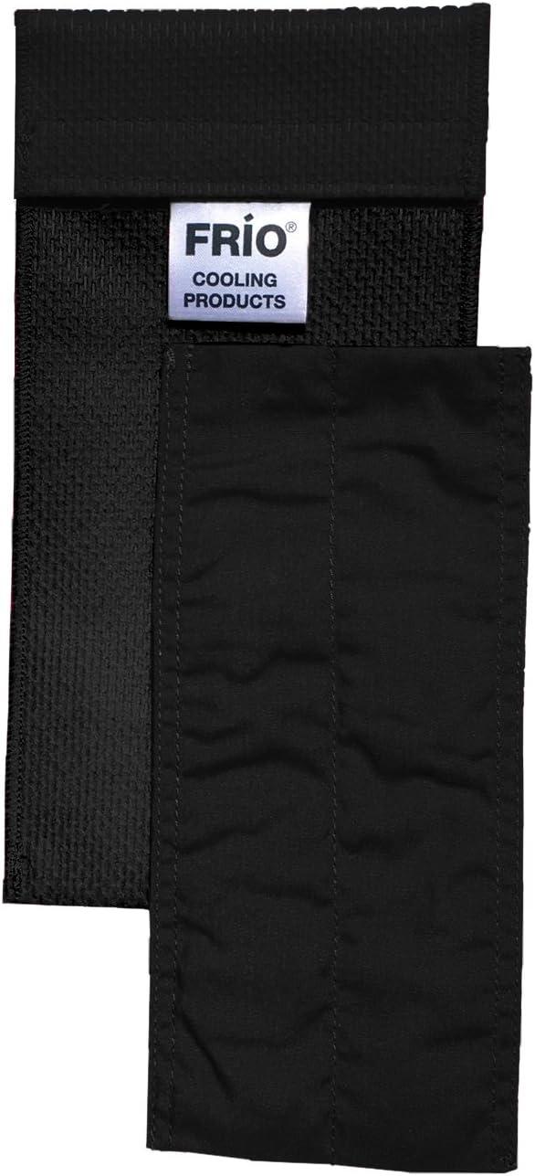 Frio Insulin Cooling Case, Reusable Evaporative Medication Cooler - Duo Wallet, Black