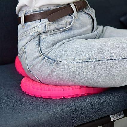 Amazon com: Gel Seat Cushion Comfort Pink Honeycomb Egg