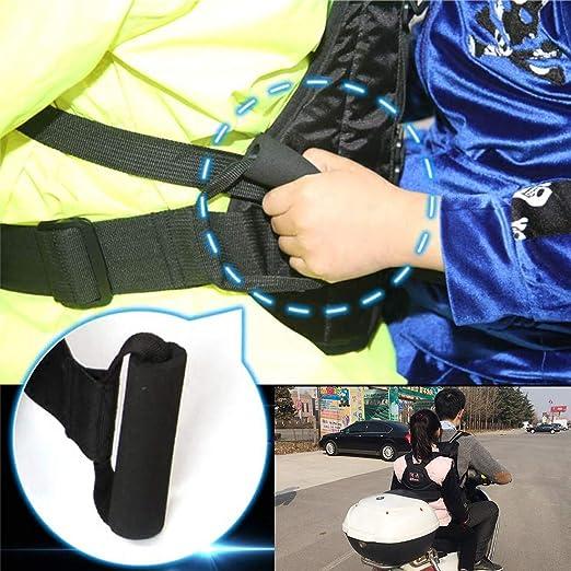 Larcele Cinturón de Seguridad para Niños en Motocicleta Arnés de ...