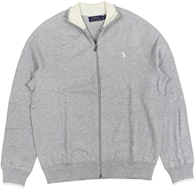 91aaa919718 Image Unavailable. Image not available for. Color  Polo Ralph Lauren Men s  Full-Zip Sweater ...