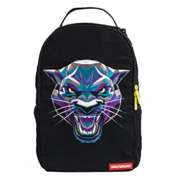 3d99495460ec41 Amazon.com   SPRAYGROUND Jungle Panther Backpack   Black (B1584)   Casual  Daypacks