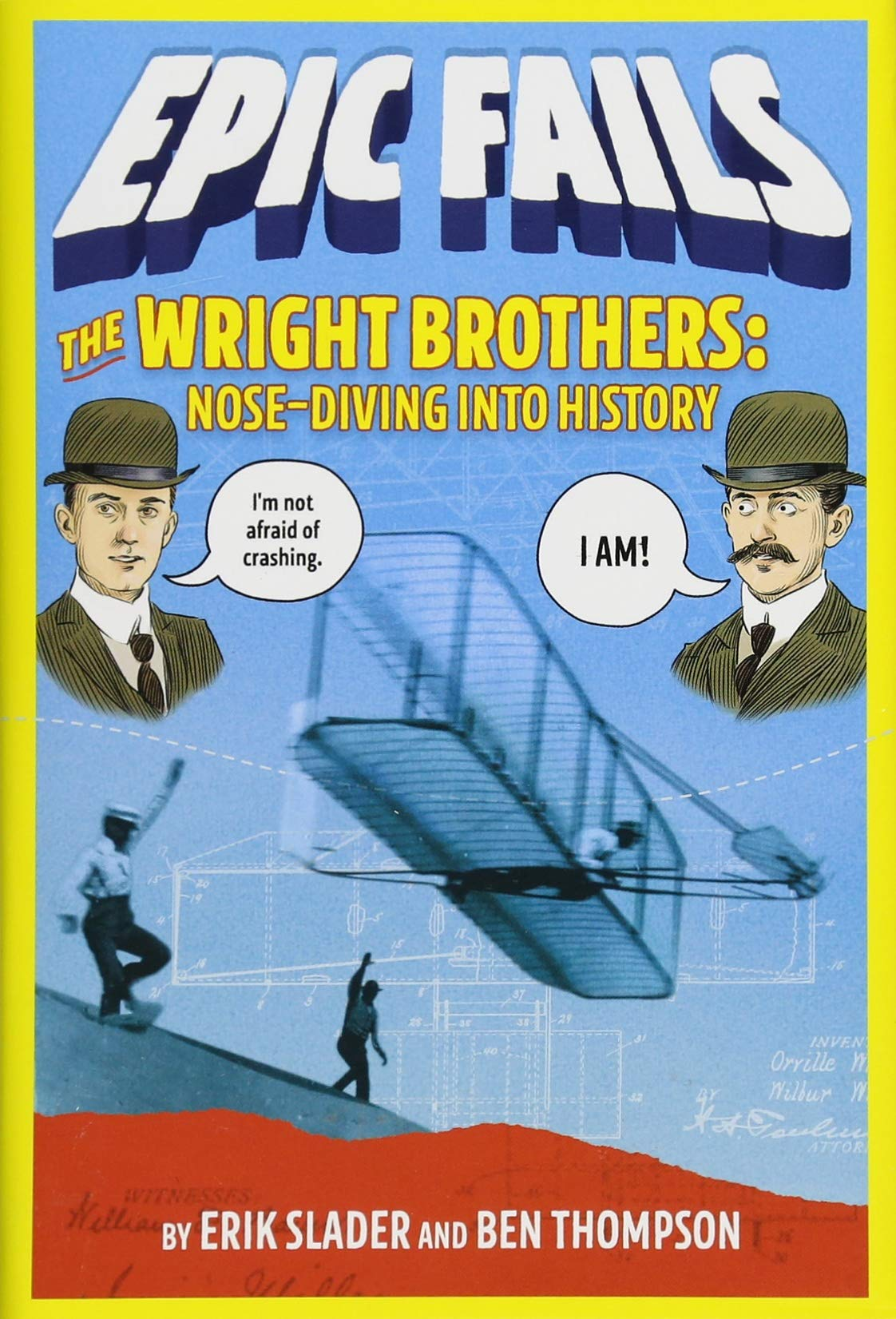 Download The Wright Brothers: Nose-Diving into History (Epic Fails #1) pdf epub