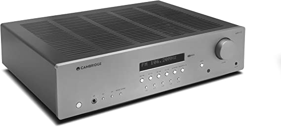 Cambridge Audio AXR100 100-Watt Stereo Receiver with Bluetooth | Built-in Phono Stage
