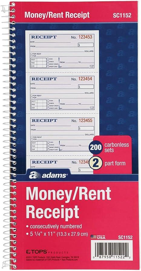 House Rent Receipt Book Bio Krida Info
