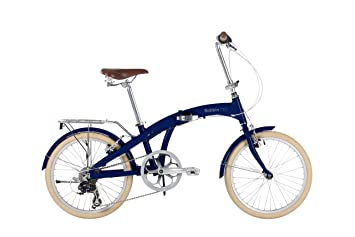 BOBBIN Bicicleta Plegable Fold (Arándano)