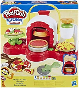 Play-Doh E4576EU5 PD Stamp N TOP Pizza, Multicolour