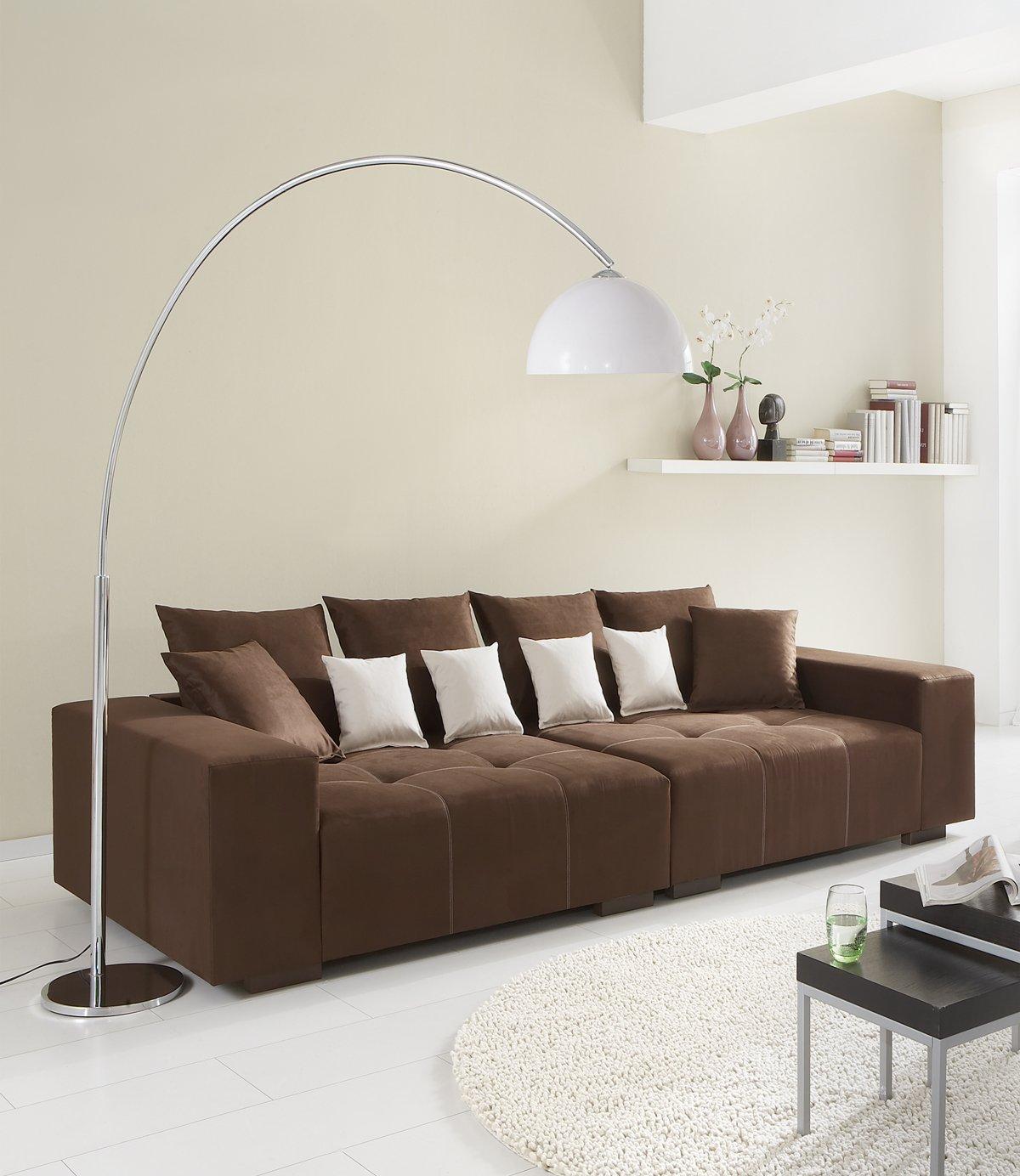 Polstermöbel Färben big sofa 260 made in germany bezug alcatex noble freie
