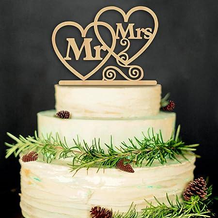 ZesNice Cake Topper Hochzeit