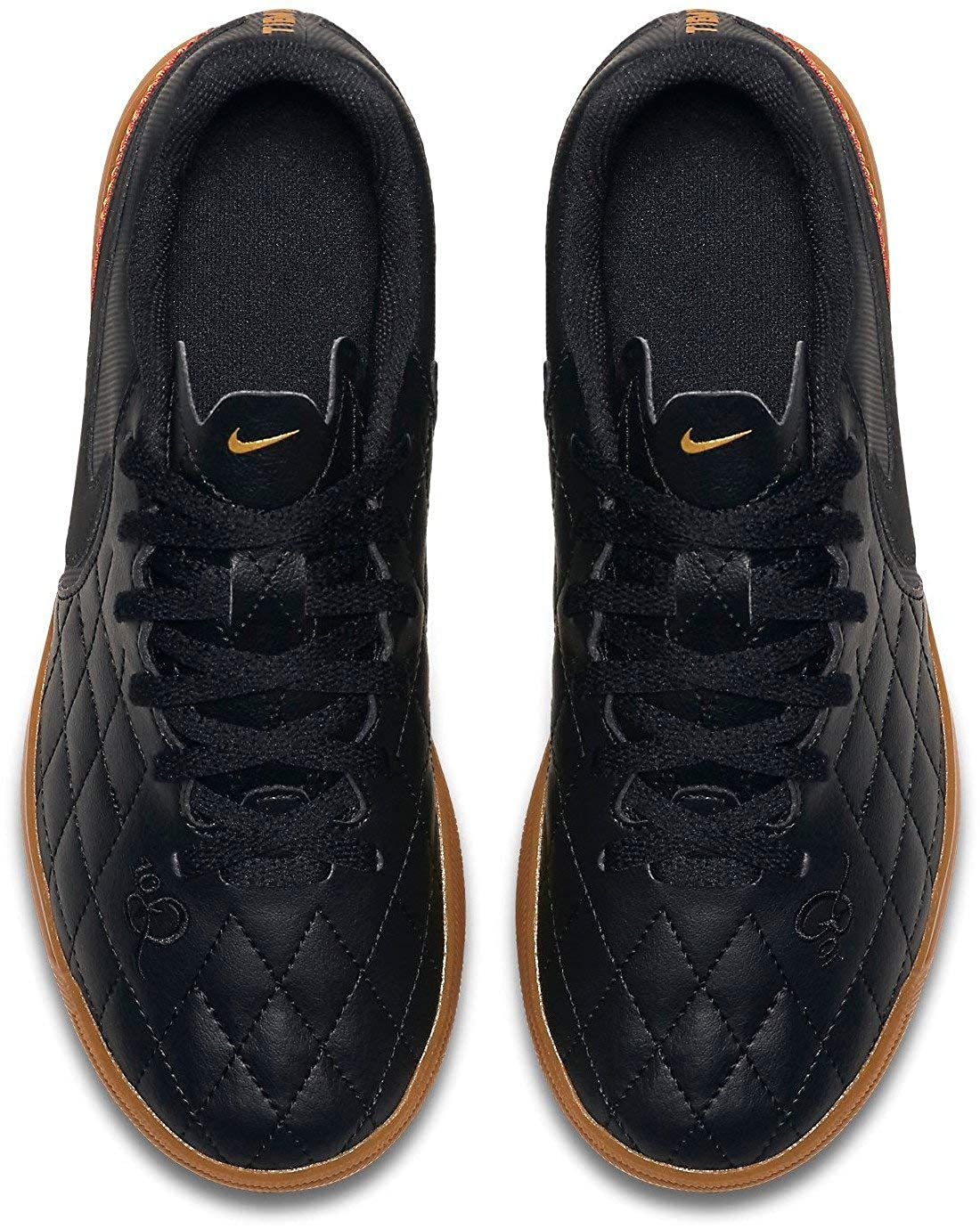 Nike JR Tiempo Rio IV 10R IC Soccer Shoe
