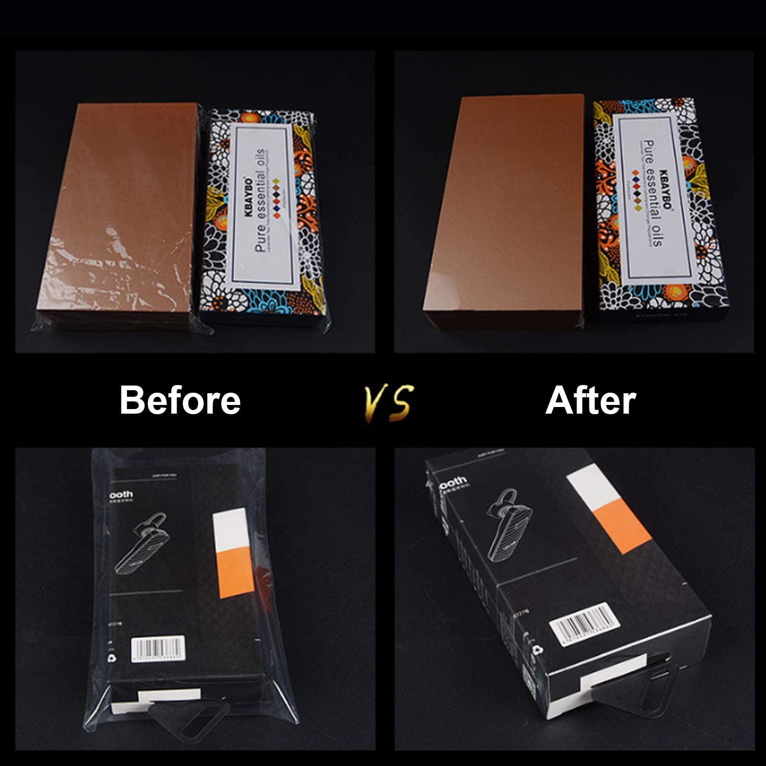 Jars and Homemade DIY Projects Shrink Wrap Bags,100 Pcs 7x14 Inches Clear PVC Heat Shrink Wrap for Packagaing Soap,Bath Bombs,Candles,Small Gifts