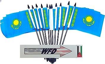 Kazakhstan Table Flag 4 x 6 inch