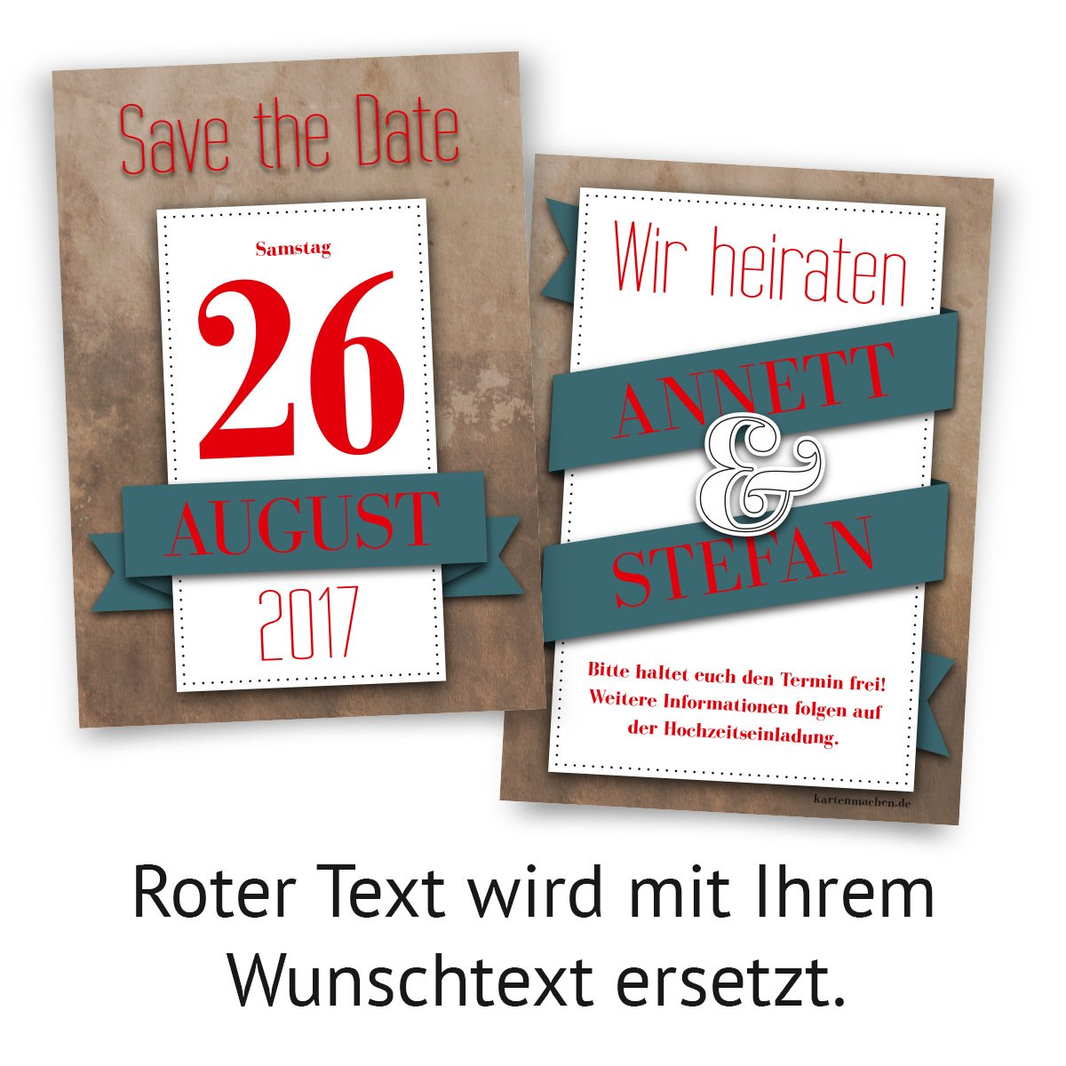 Roter Dating-Standort
