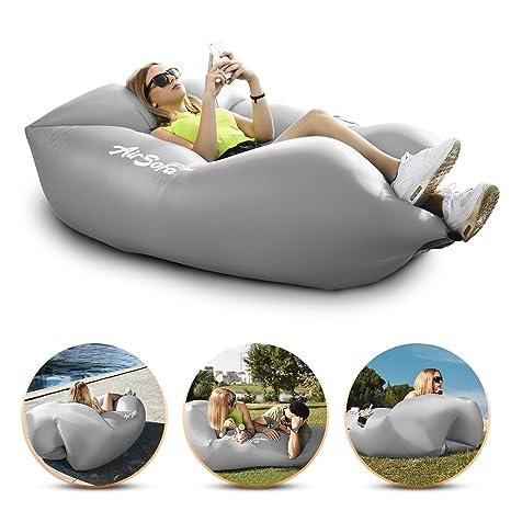 abco tech inflatable air sofa chair portable lounger couch u0026 hammock pool float sofa chair81 sofa
