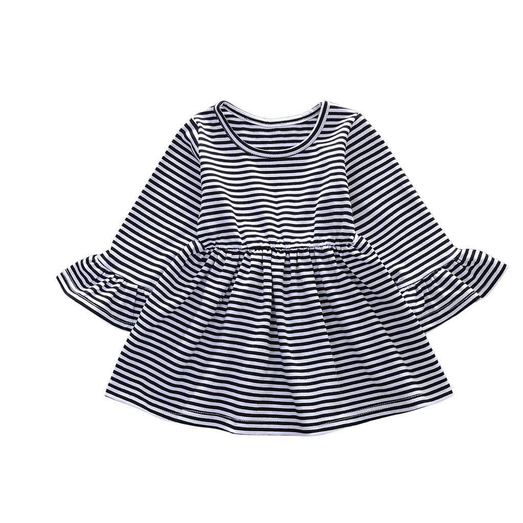 One Shoulder Dress Casual,Toddler Baby Kids Girls Sleeveless Ribbons Lace Sunflowers Summer Princess Dress,Girls' Fashion,Gray,12-18M