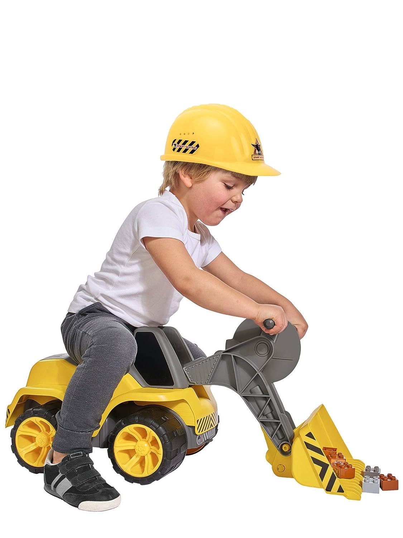 BIG 800055813/ Amarillo /Power-Worker m/áxima de Biblioteca Infantil