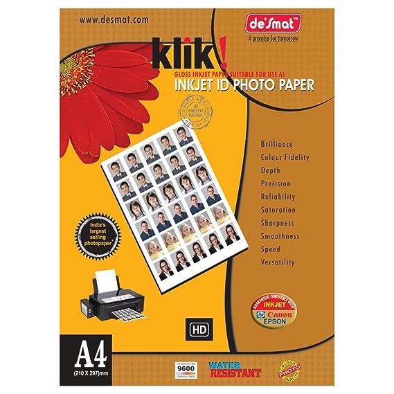 desmat A4KLIKID180 50S, Photo Paper  Off White