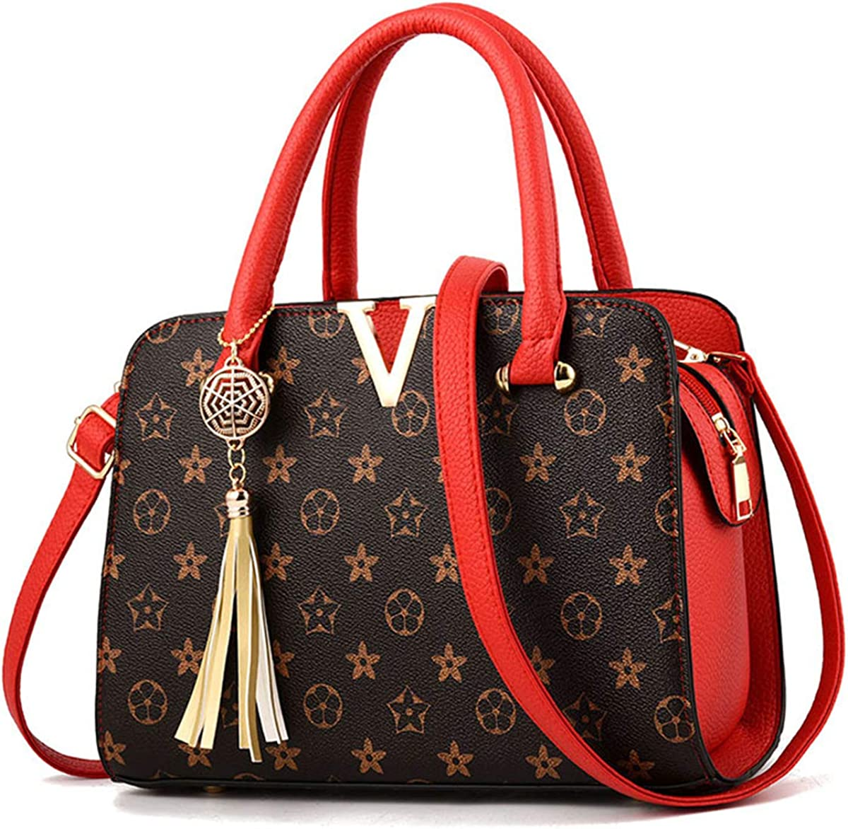 Women's PU Leather V...