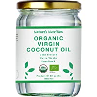 Nature's Nutrition Organic Virgin Coconut Oil, 500ml