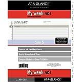 """AT-A-GLANCE, 93010 DAY-TIMER, 8-1/2"""" x 11"""", tamaño 5 (491-285-21)"""