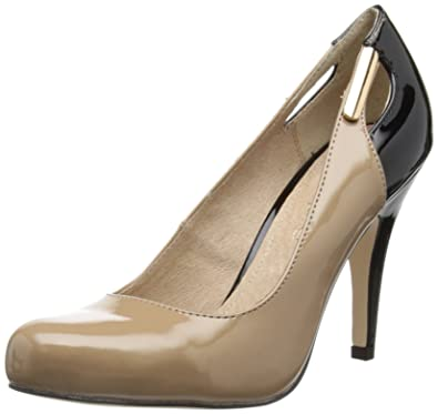 cfe07670688e Moda In Pelle Womens Corey Nude Court Shoes 4 UK