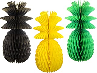 product image for 3-Pack 13 Inch Jamaica Solid Pineapple Decorations