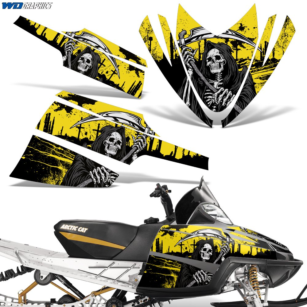 Amazoncom Arctic Cat M Series Crossfire Decal Graphic Kit Sled