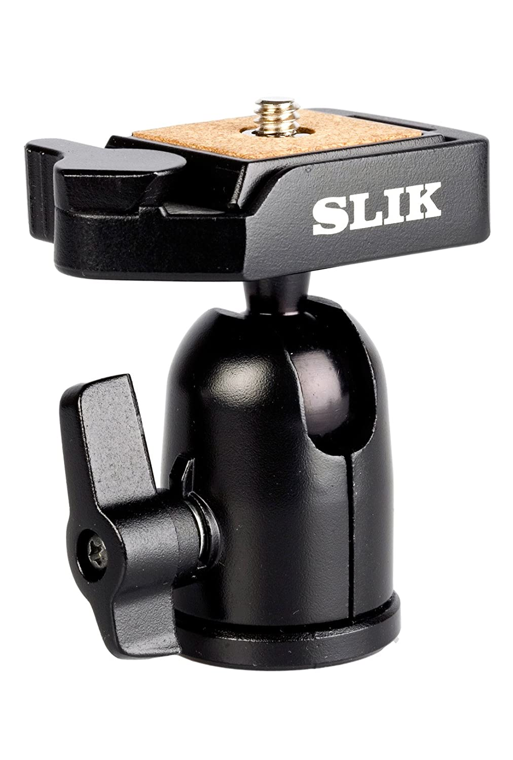 Supports 2.2 lbs. Black 618-324 SLIK SBH-100 DQ Compact Ballhead with Quick Release