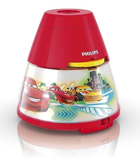 Philips Proyector y luz Nocturna 2 en 1 71769/32/16, 0.1 W, Rojo