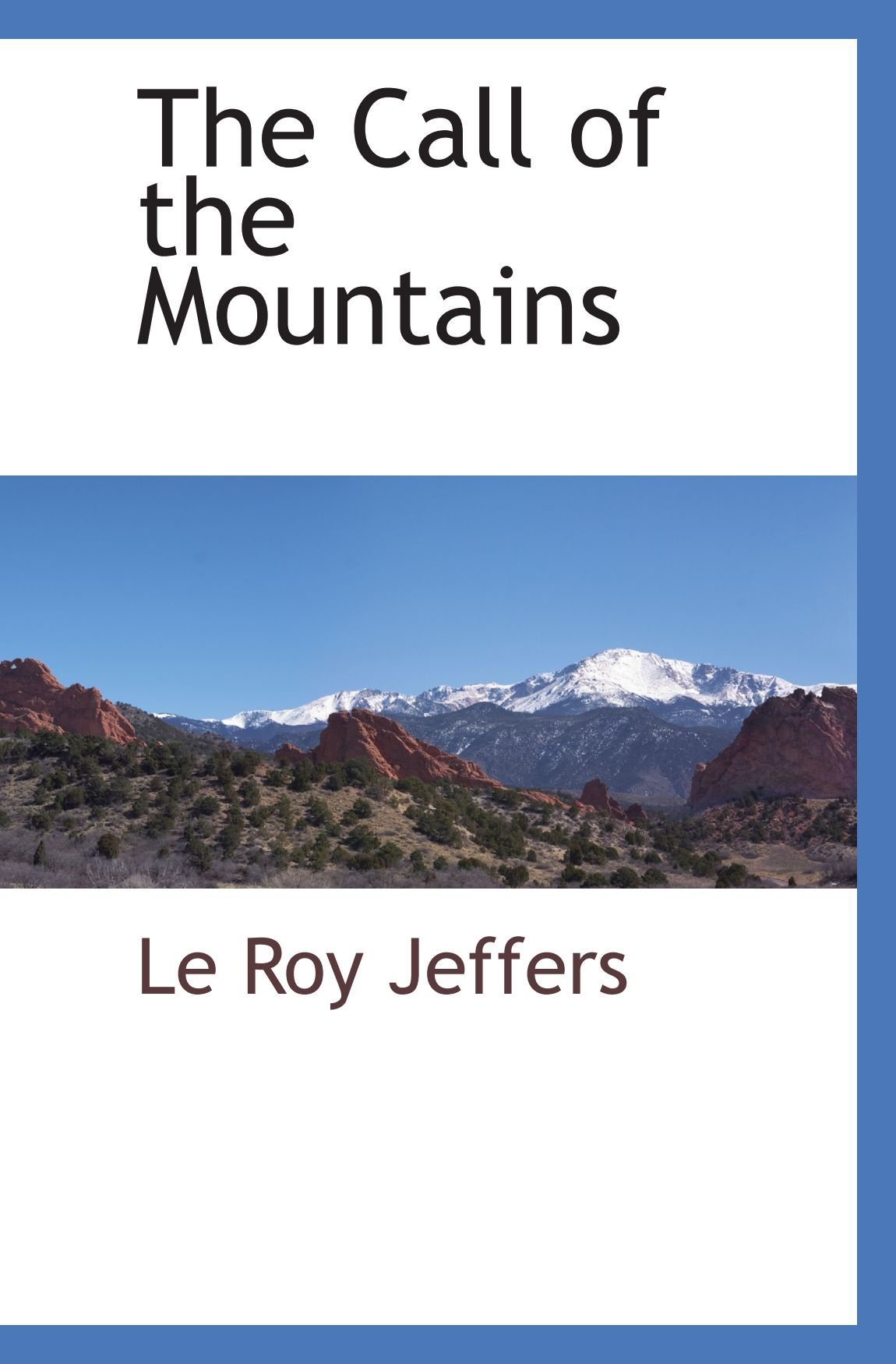 Download The Call of the Mountains ebook