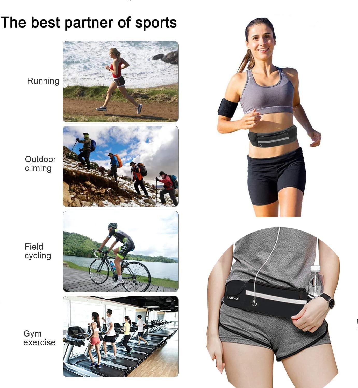 Senderismo al Aire Libre Afufu Ri/ñonera Deportiva Escalada Vacaciones Camping Cintur/ón para Correr con Soporte para Botella de Agua Bolsa para Ciclismo Mujer//Hombre para Viajes