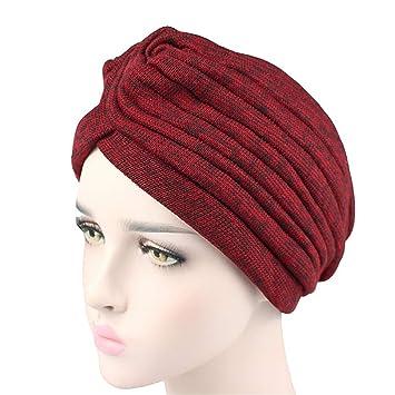 Amazon.com : New Winter New Fashion Women Knit Turban Twist ...