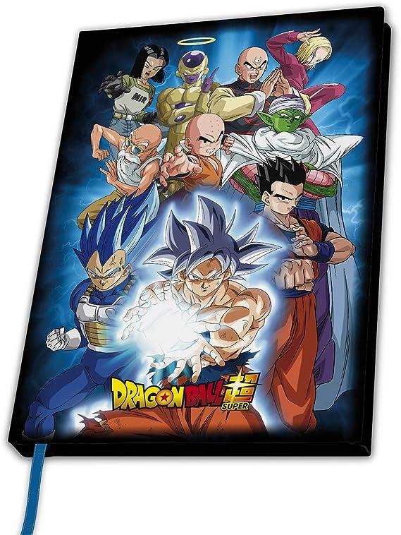 ABYstyle Cuaderno Dragon Ball Universo 7: Amazon.es: Juguetes y juegos